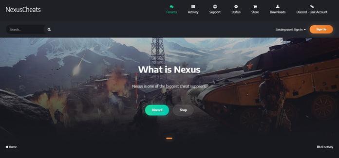 nexus-cheats