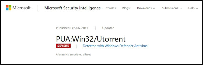 utorrent-enligt-windows-defender