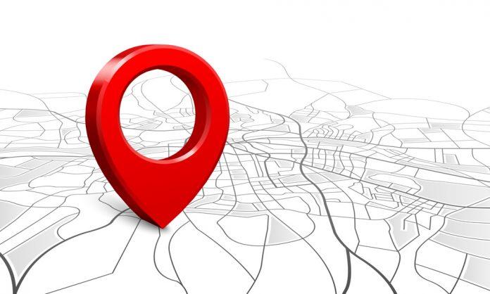 Navigationsnal pa en kart