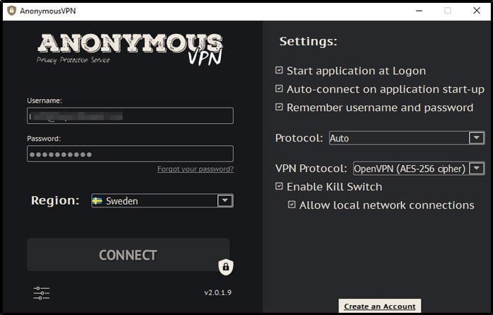 anonymousvpn-app-för-windows
