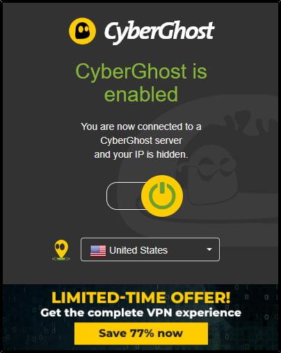 cyberghost-chrome