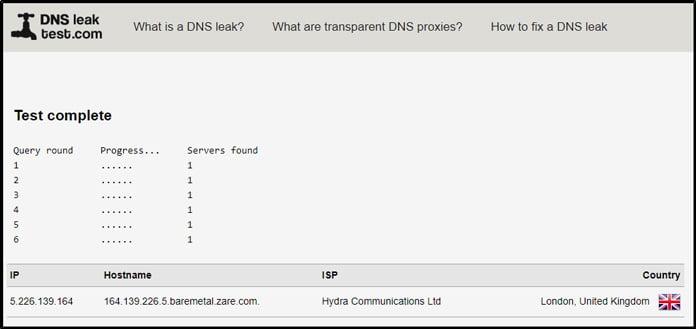 inga-läckor-enligt-dns-leak-test