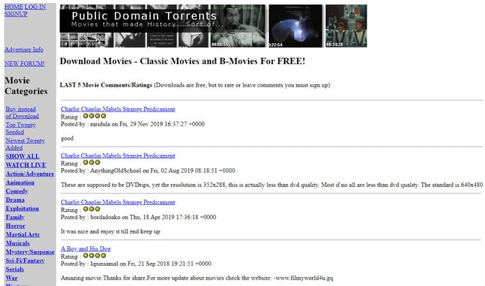 public-domain-torrents