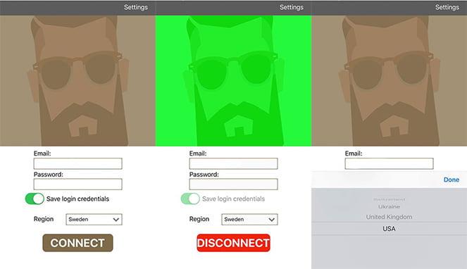 vpn-app-för-ios