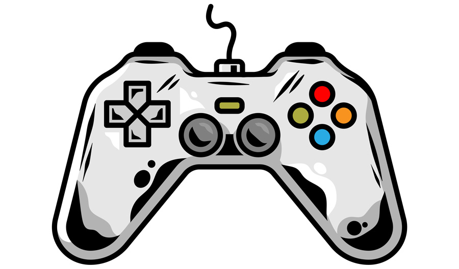 Bild pa gamepad