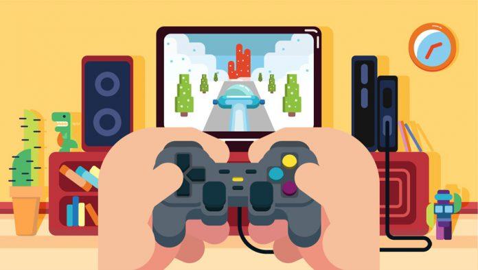 Gaming med animerat