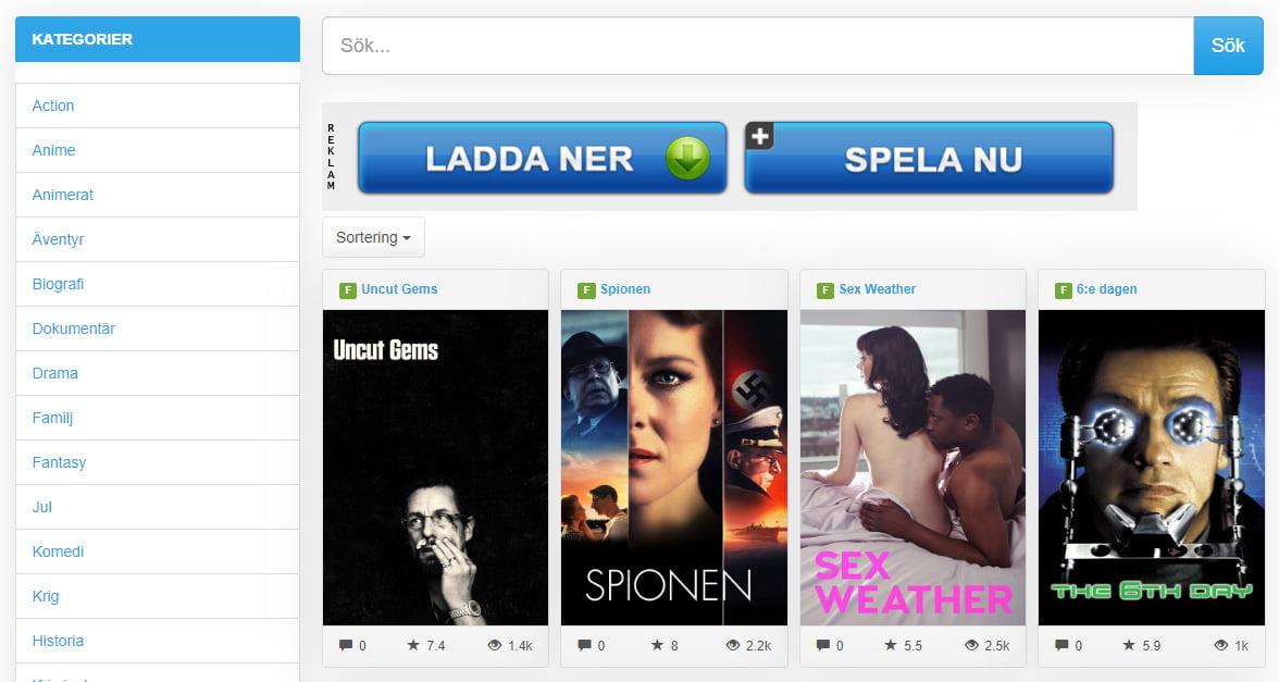 Dreamfilm movies