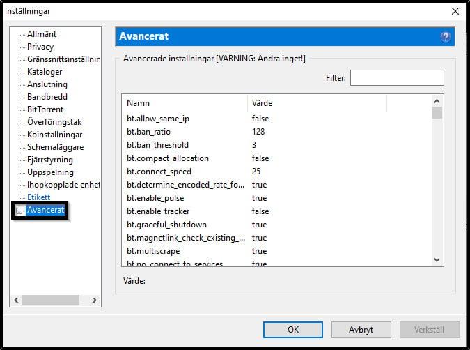välj-avancerat-i-utorrent