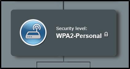 wpa2-säkerhetsläge