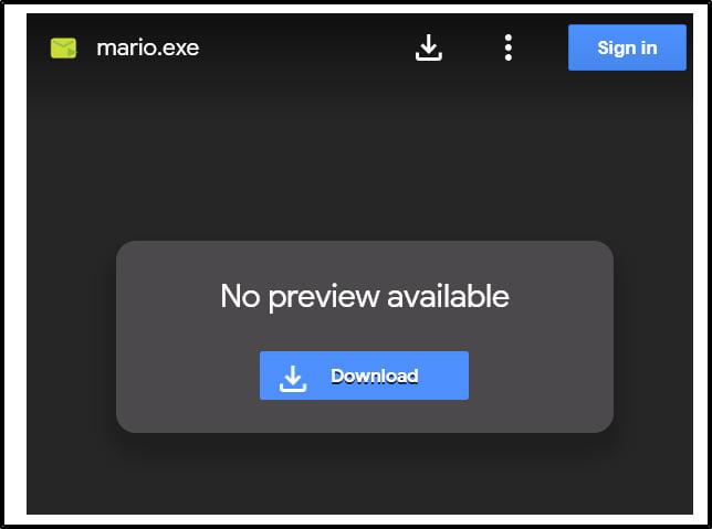 mario-google-drive