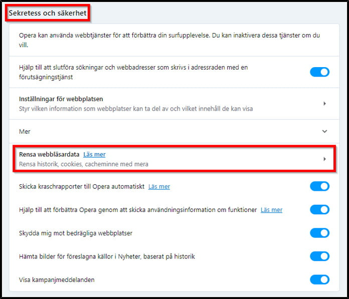 rensa-webblasardata-for-opera