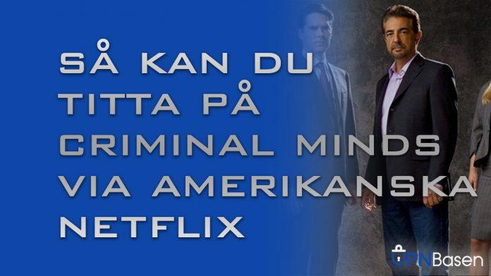 Criminal minds netflix iusa