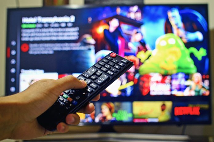 netflix-tv-och-fjärrkontroll