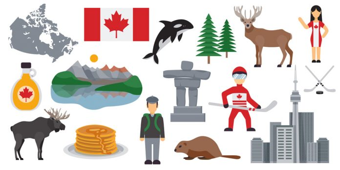 Bild over kanada
