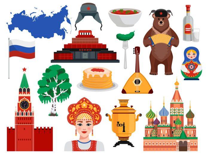 Bild pa ryska turiststallen