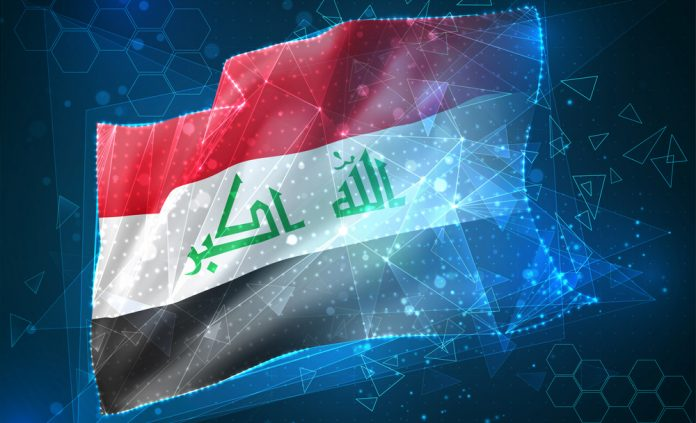 Irak flagga