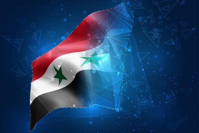 Syrisk flagga