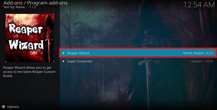 välj-program-add-on-och-reaper-wizard